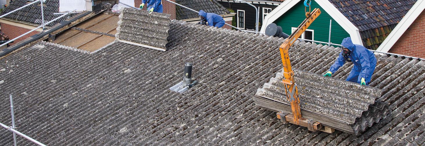 Asbeste verwijdering daken